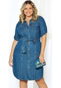 Vestido Azul Lisamour