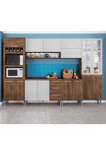 Cozinha Rafaela 0423T 15 Portas C/ Tampo – Genialflex - Demolição / Gelo