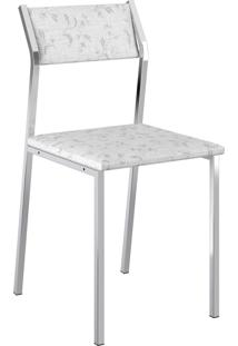 Kit 2 Cadeiras 1709 Napa Móveis Carraro Branco