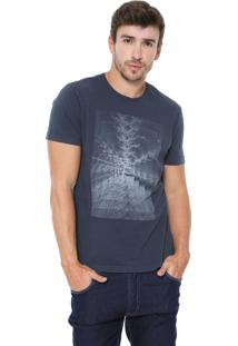 Camiseta Aramis Tree Azul