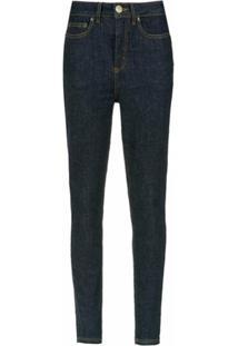 À La Garçonne Calça Jeans Skinny - Azul