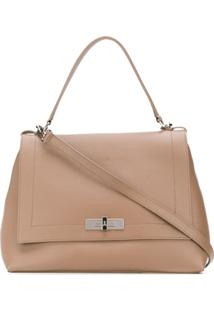 Patrizia Pepe Bolsa Tote 'Secret Fly' - Neutro