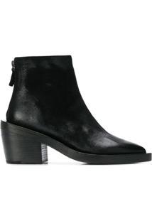 Marsèll Block-Heel Ankle Boots - Preto
