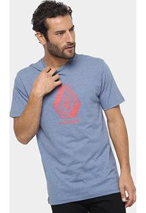 Camiseta Volcom Silk Cycle Stone Masculina - Masculino