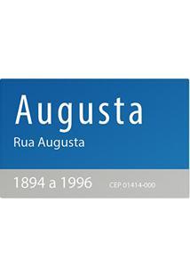 Jogo Americano (Kit 4 Unidades) Rua Augusta