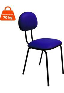 Cadeira De Escritório Interlocutor Palito I Azul