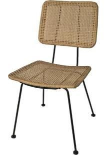 Cadeira Finlandia Fibra Sintetica Natural 87 Cm (Alt) - 47065 - Sun House
