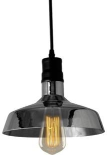 Pendente Retrô Preto Com Lâmpada Filamento De Carbono St64 127V Sl2333 Toplux - Kanui