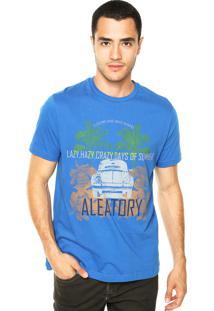 Camiseta Aleatory Fusca Azul