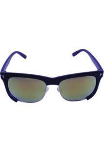 Óculos De Sol Khatto Chic Chic Model Masculino - Masculino-Marrom