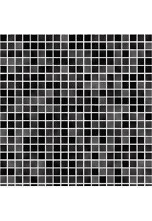 Pastilhas Adesivas Cinza E Preto (0,60M X 2,50M)