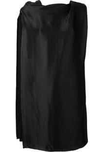 Rick Owens Layered Panel Dress - Preto