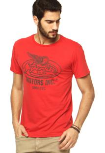 Camiseta Fiveblu Vermelha