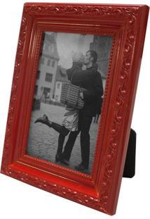 Porta Retrato 15X20Cm Provençal Vermelho Para 1 Foto 10X15Cm