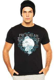 Camiseta Pretorian Beat Hard Preta