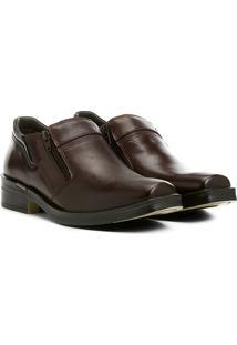 Sapato Social Ferracini Urban Way Hi - Masculino-Marrom