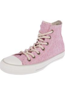 Tênis Converse Ct As Textile Hi Rosa