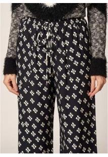 Calça Mob Pantalona Estampa Tie Dye Estampado - Feminina - Feminino