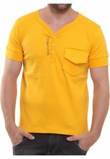 Camisa Polo Oitavo Ato Henley - Masculino