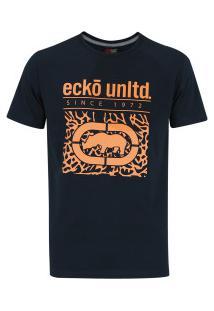 Camiseta Ecko Estampada E462A - Masculina - Azul Escuro