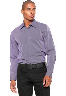 Camisa Forum Smart Roxa