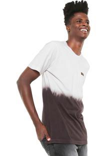 Camiseta Mcd Degradê Core Rosa/Marrom