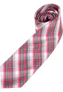 Gravata Vermelha Xadrez - Uni