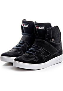 b0398253ee ... Tenis Rock Fit Londres Preto