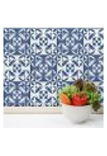 Adesivo De Azulejo Para Cozinha Cidade Do Porto 20X20 24Un