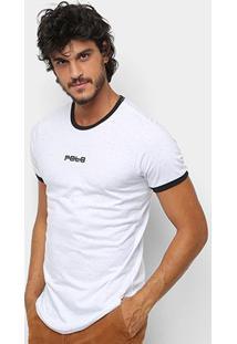 Camiseta Rg 518 Básica Swag Flame Masculina - Masculino-Branco