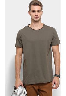 Camiseta Reserva Long Leve Masculina - Masculino-Verde Escuro