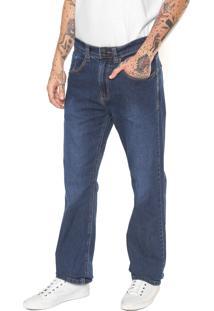 Calça Jeans Hering Reta Tradicional Azul