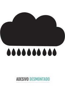 Adesivo Decohouse De Parede Rain Preto