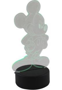 Luminária Led Mickey - Zona Criativa