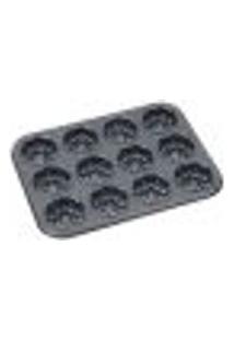 Forma Para 12 Muffins De Aço Carbono - Dynasty