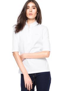 6b4d4a8ce2598 R  199,99. Dafiti Polo Branca Feminina Lacoste Básica Camisa