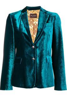 Etro Blazer De Veludo - Green