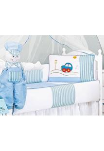 Enxoval Infantil Laura Baby Fuskinha Azul