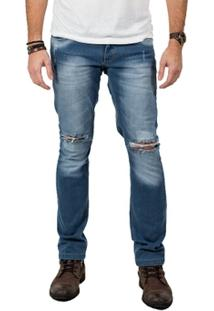 Calça Jeans Destroyed02 - Masculino
