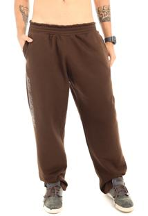 Calça Moletom Dhg Company All Brown