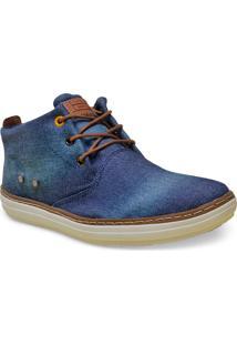 Bota Masc West Coast 118617/1 Jeans/Wisky