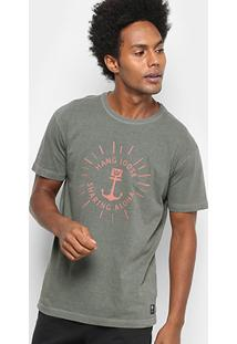 Camiseta Hang Loose Aloha Masculina - Masculino