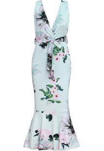 Vestido Veneza - Verde Claro