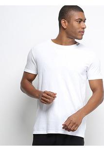 Camiseta Calvin Klein Básica Masculina - Masculino-Branco