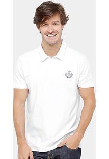 Camisa Polo Forum Malha Silk New Logo Masculina - Masculino