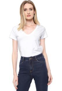 Camiseta Dudalina Lisa Branca