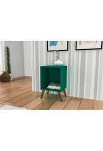 Rack Auxiliar Sem Porta Móvel Bento Verde