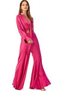 Calça Iódice Pantalona Cós Intermediário Básica Feminina - Feminino