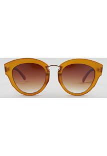 1f74d8fab R$ 48,93. CEA Óculos De Sol Redondo Feminino Oneself ...