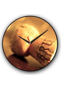 Relógio De Parede Colours Creative Photo Decor Decorativo, Criativo E Diferente - Rolha